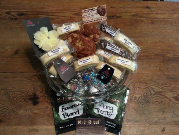 Buffalo Gals gift basket