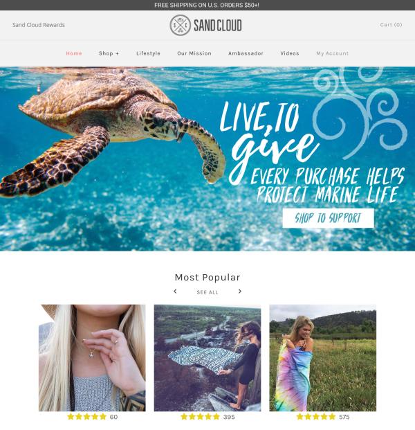 sandcloud website