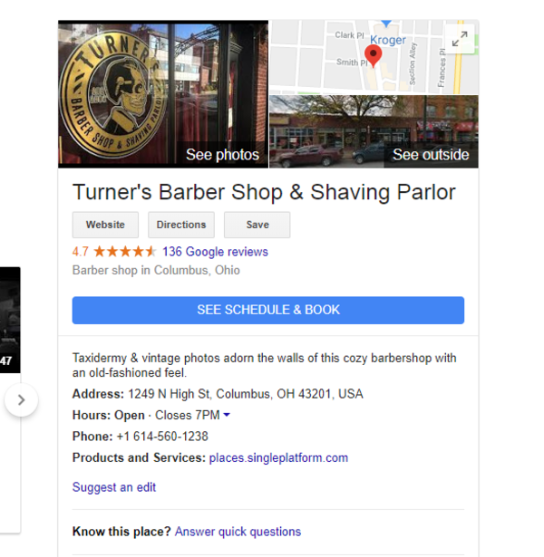 Turner's Barbershop