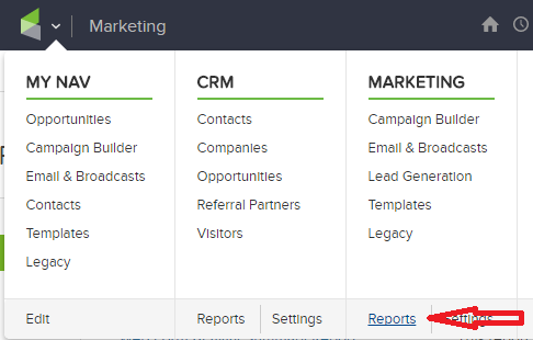 infusionsoft campaign reporting