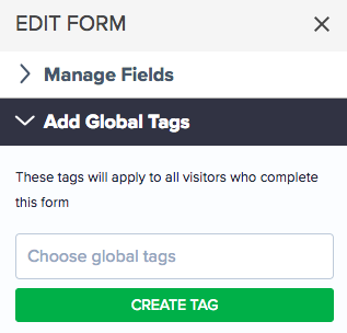 Add global tags