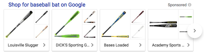Baseball bat image example