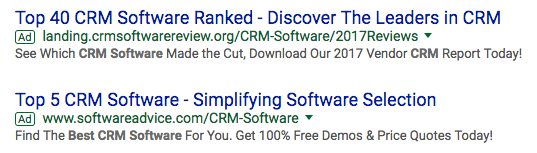 Google pay-per-click ads
