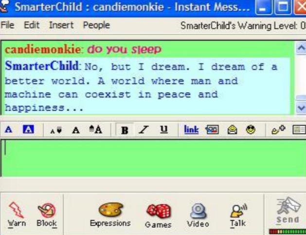 Smarterchild chatbot
