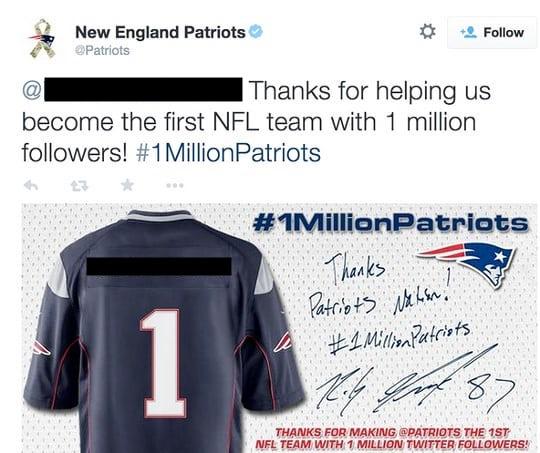 Patriots twitter