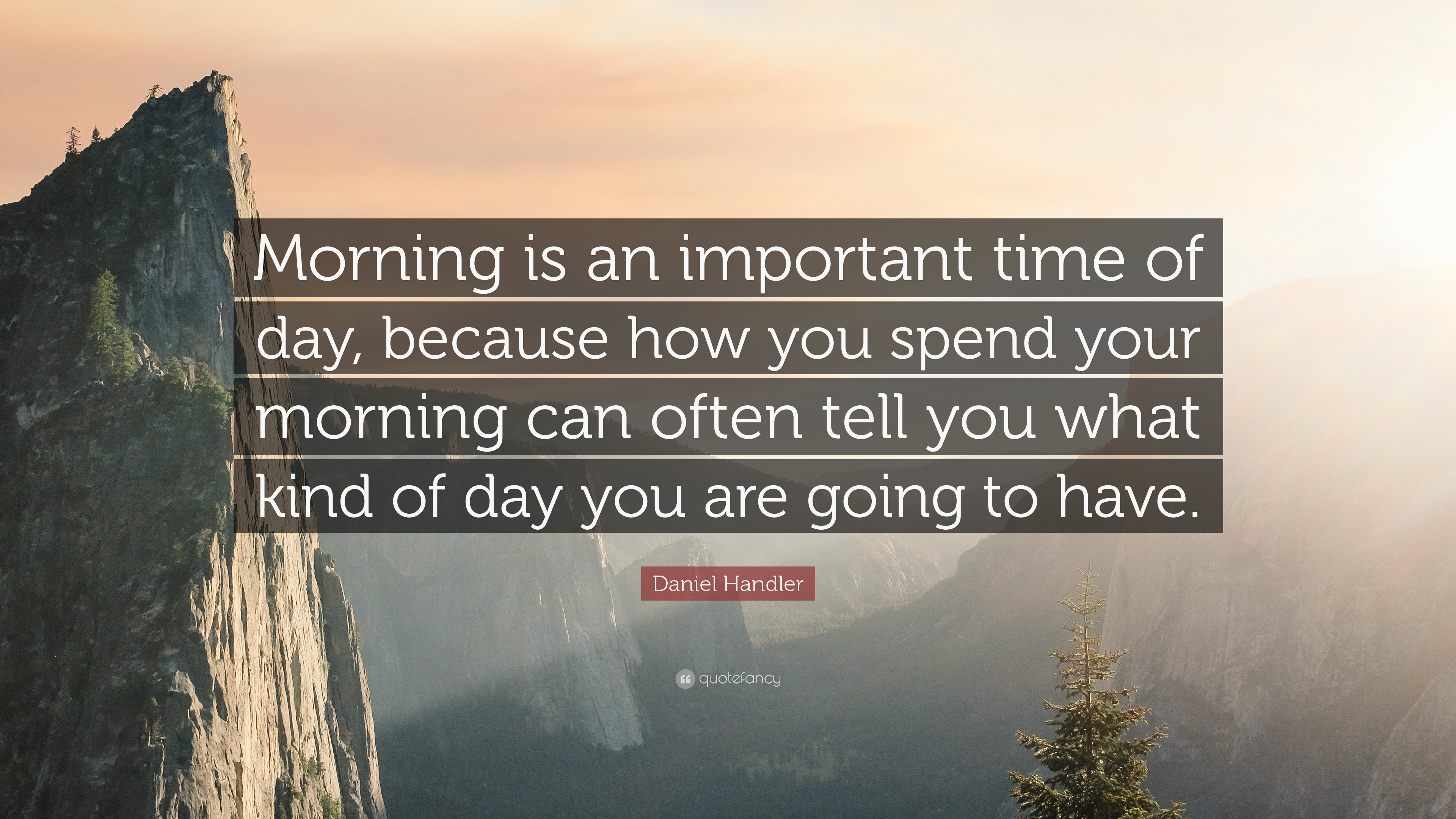 quote about mornings