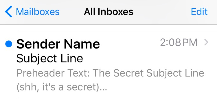 email anatomy sender and subject line